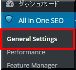 All in One SEO Pack設定画像1
